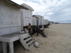 Domki plażowe w Calais