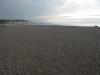 Kamienista plaża w Dieppe
