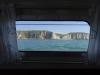 Widok z okna na klify Normandii