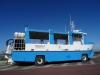 Bus - amfibia w Hodowla ostryg w Saint Vaast-la-Hougue