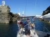 Beaucette Marina na Guernsey już w środku