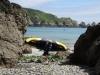 Zatoczka Petit Port na Guernsey