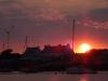 Archipelag Îles de Glénan - zachód słońca