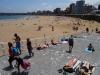 Plaża w Gijón