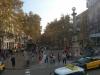 La Rambla - najbardzie zatłoczona ulica Barcelony