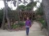 Park Guell zaprojektowany przez Gaudiego