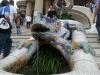 Słynna jaszczurka w parku Guell
