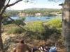 Grill na wysepce przy kotwicowisku Cala Portals