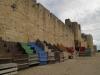 Arena byków pod zamkiem w Aigues-Mortes