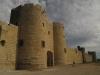 Średniowieczny zamek Aigues-Mortes