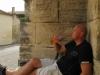 Degustacja królewskiego Gris de Gris na murach starego zamczyska
