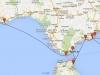 Trasa Sputnika II z Faro do Malagi