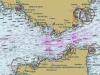 Mapa Cieśniny Gibraltarskiej