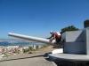Cała cieśnina była w zasięgu ciężkiej artylerii