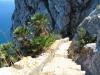 Strome zejście z gibraltarskiej skały