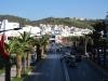 Główne ulice M\'diq udekorowane przed wizytą króla