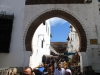 Targ w Tetouan zajmuje całe stare miasto