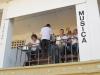 Corrida odbywa sie przy muzyce na żywo