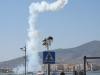 Pokaz akrobacji lotniczych w marinie Melilla