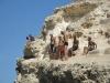 Skaczemy z Komarem ze starej twierdzy w Melilla