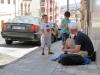 Wzbudzamy ciekawość w marokańskiej dzielnicy w Melilla