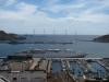 Widok na port w Cartagenie