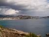 Widok na wejście do portu Ibiza