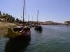 Barki na rzece Douro w Porto