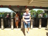 Mateo doleciał i przyjechał! Powitanie na dworcu w Cascais