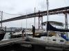 Lizbona - Sputnik II w marinie Santo Amaro