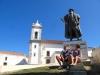Pomnik Vasco da Gamy w jego rodzinnej miejscowości Sines