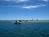 Laguna Alvor przy przypływie