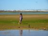 Laguna Alvor przy odpływie