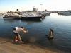 Marina w Faro w czasie przypływu