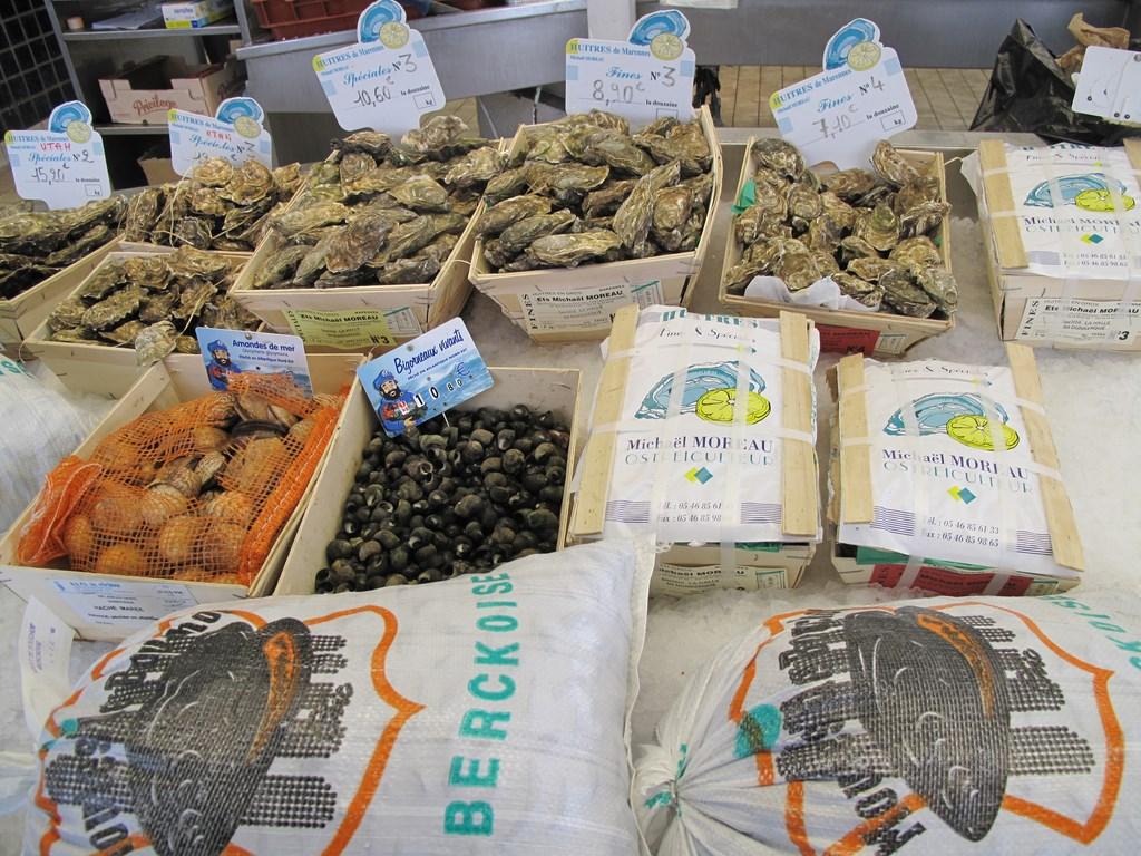 Owoce morza w Dunkierce