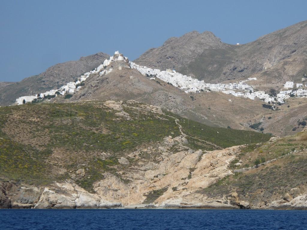 Białe miasteczko Chora na Serifos 1