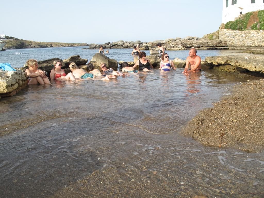Gorące źródła w Loutra na Kythnos