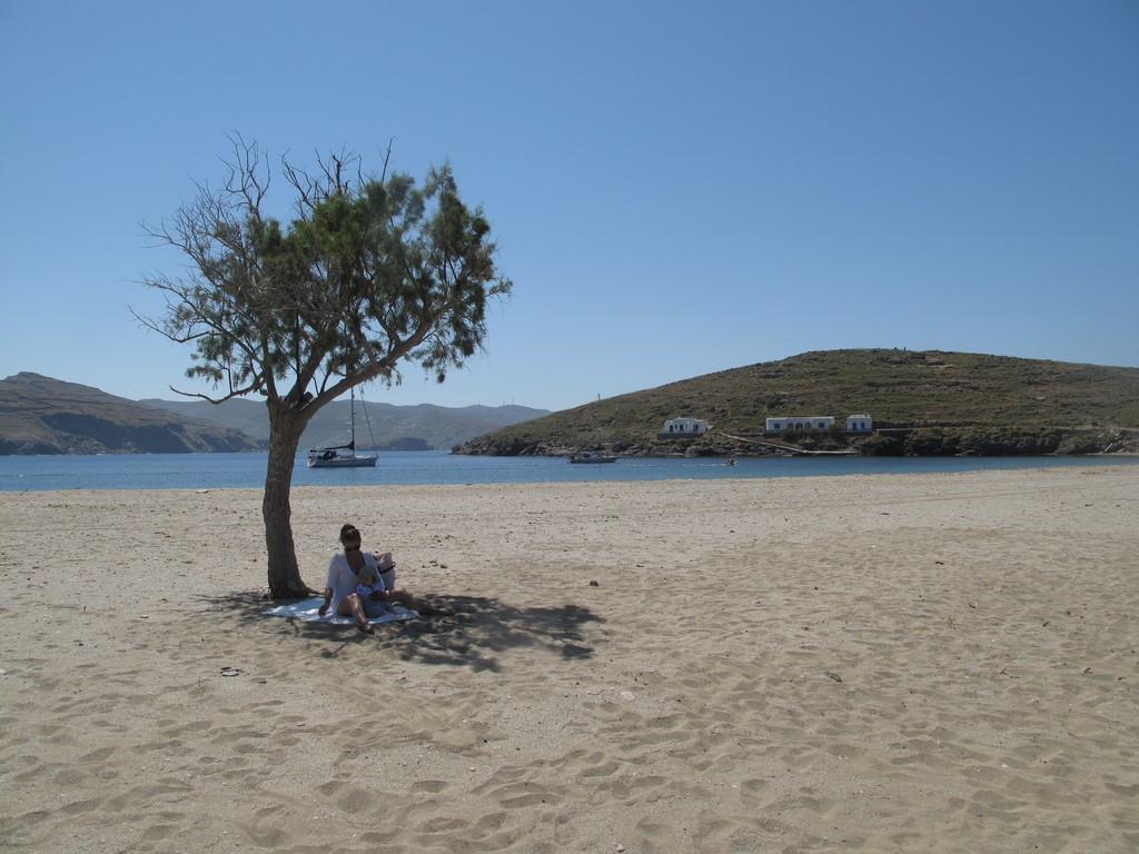 Plaża Kolona na Kythnos