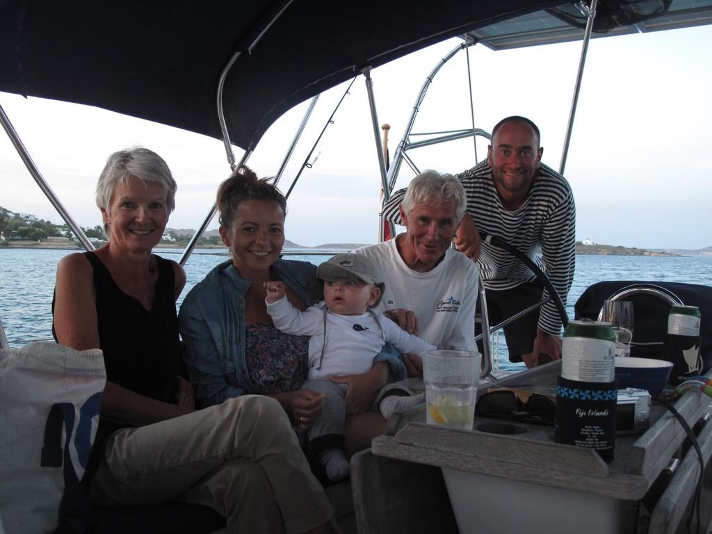 Ponowne spotkanie z Katherine i Davidem z Nowej Zelandii na Paros