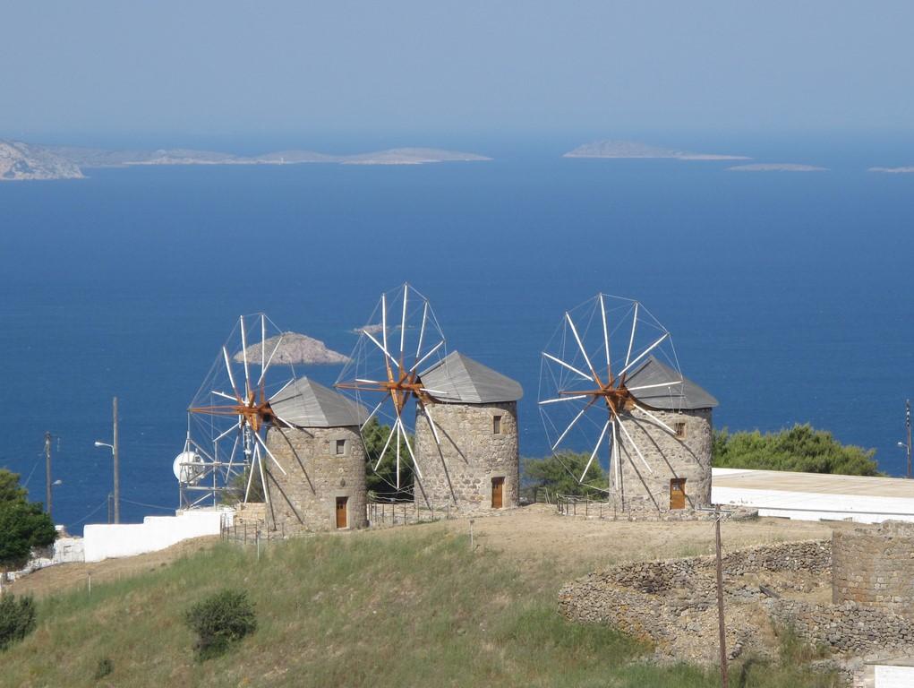 Wiatraki na Patmos