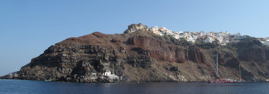 Santorini - miasteczko Oia 1