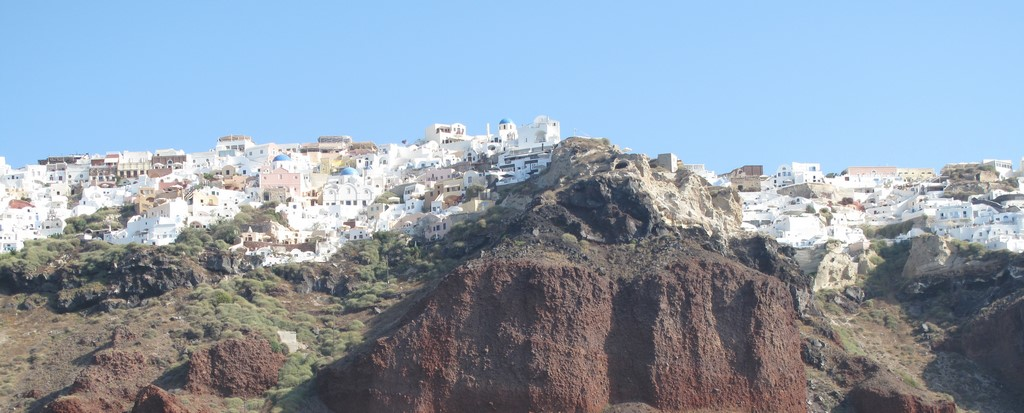 Santorini - miasteczko Oia 2