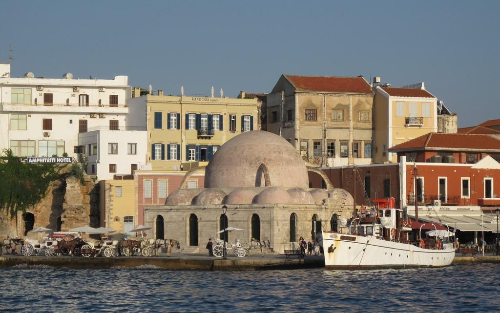 Chania na Krecie - wenecko-arabska architektura