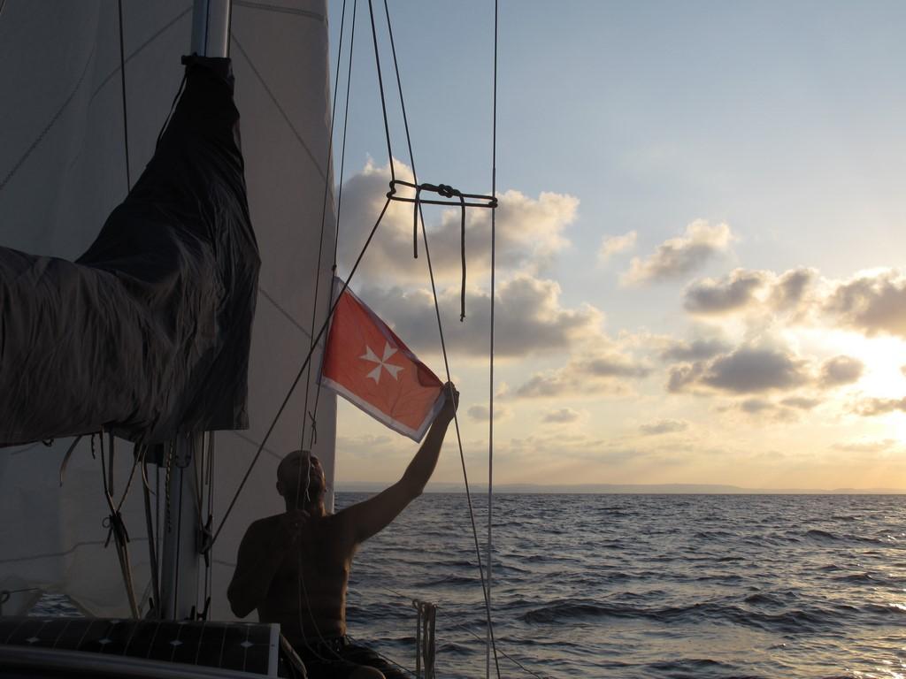 Dopływamy do Malty