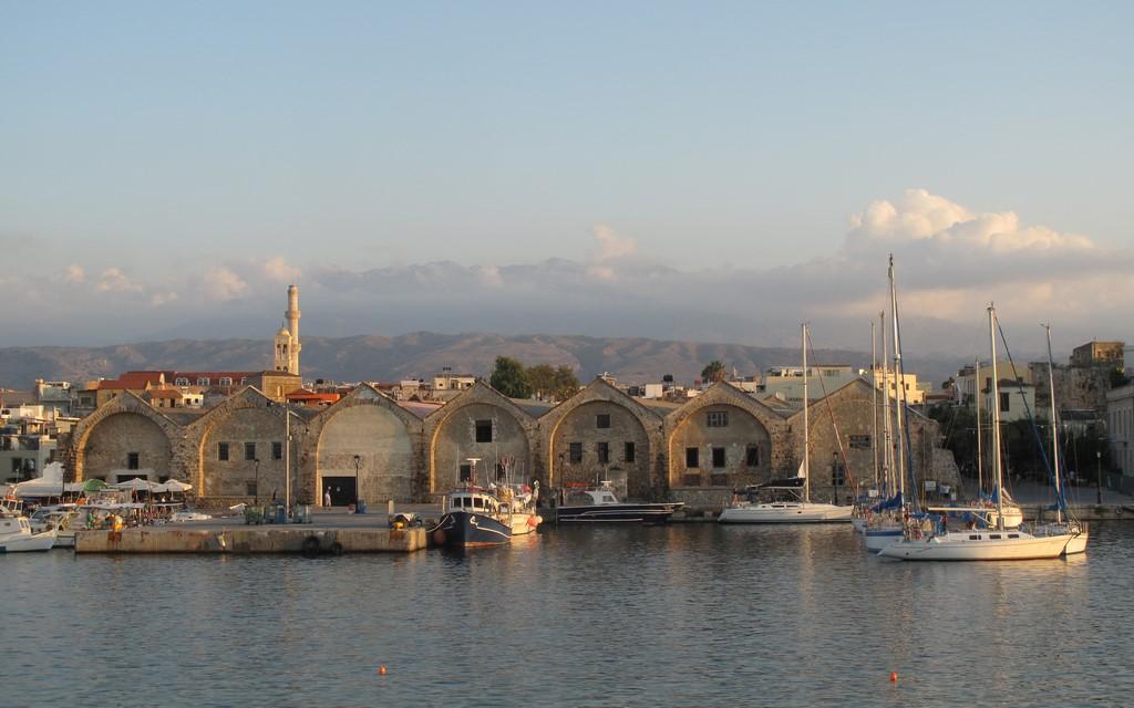 Weneckie doki w Chania na Krecie