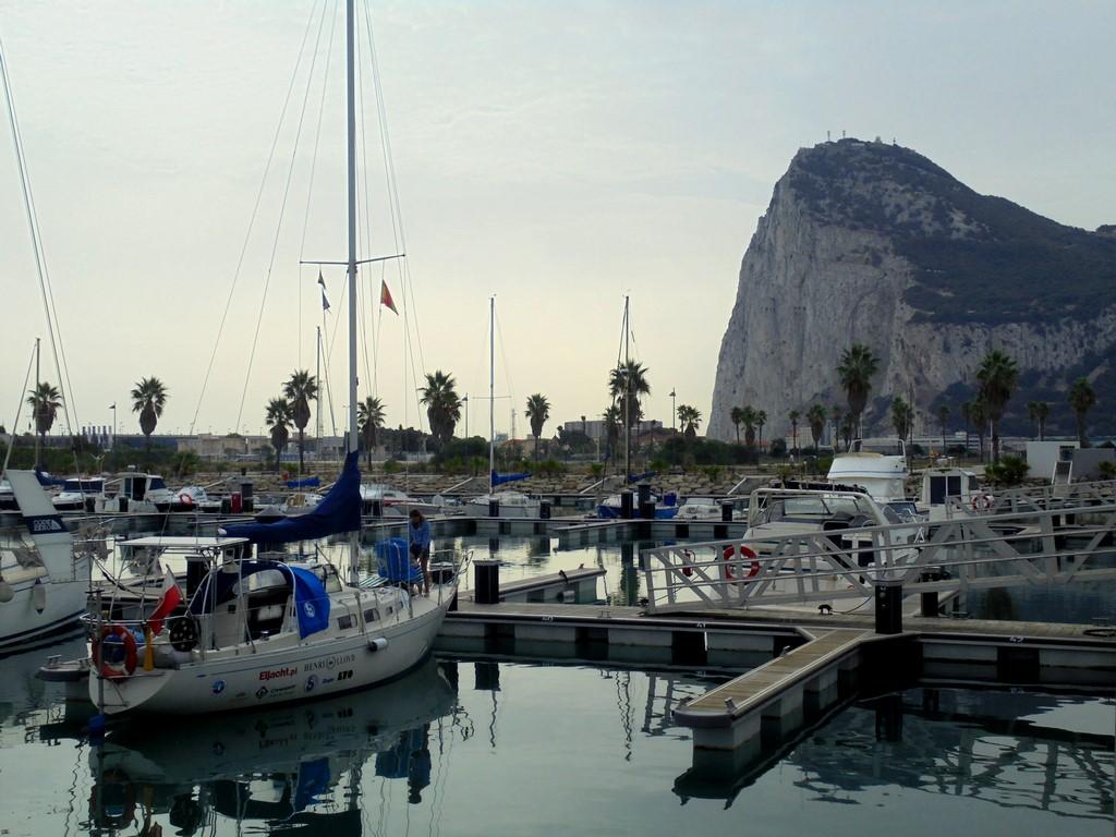 Sputnik II pod Gibraltarem