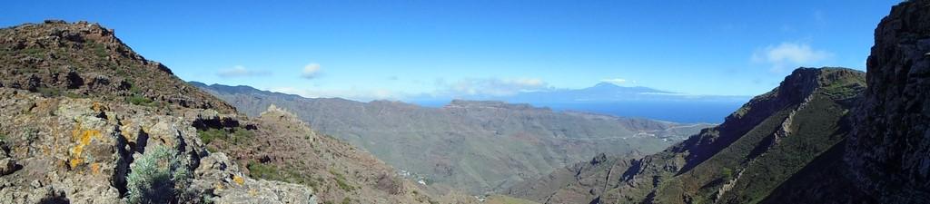 Gomera - panorama z El Teide