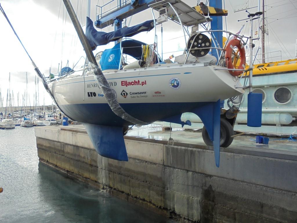 Wodowanie Sputnika II w San Miguel