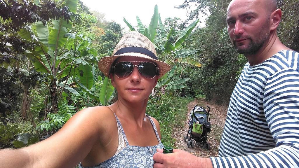 Odpoczynek w lesie tropikalnym
