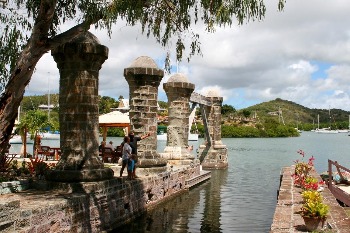 Doki Nelsona na Antigua
